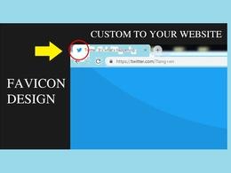 Design you a Favion for your website (24hr service)