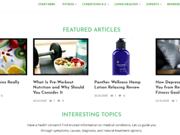 Guest post on Thecompleteherbalguide.com health website - DA 50