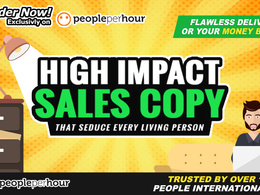 Create Unique Sales Copies, Landing Pages & Website Copywriting