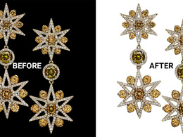 20 jewellery  photos background removal