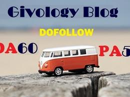 Write guest post at givology.org DA 60 & Dofollow backlink