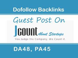 Write And Publish a High Quality Guest Post on JCount