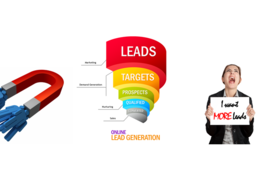 Do research and generate 100 leads for your business