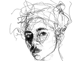 Draw your portrait in creative way