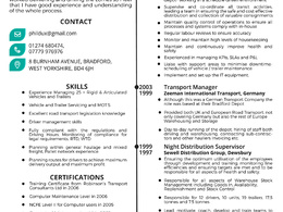Create a professional resume, cv and cover letter.