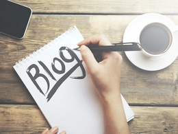 Write a blog for you