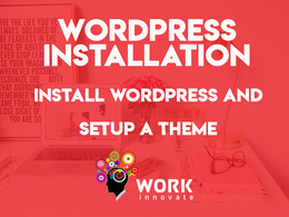 Install and configure WordPress website theme as per demo