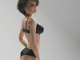 Design:3D Character highpoly & lowpoly for game + RIG + ANIMATE