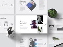 Design a modern Prezi, Keynote or PowerPoint Presentation