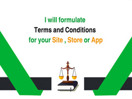 Formulation terms and conditions for your site, store or app