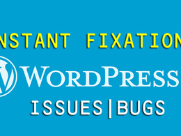Fix  any WordPress Website Issue, Errors or Bug Instantly