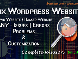 Fix wordpress issues, fix wordpress Error