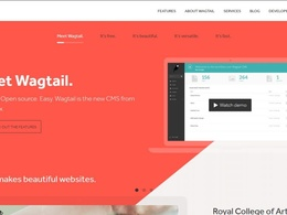 Create a wagtail CMS/ Website.(Per Hour Rate)
