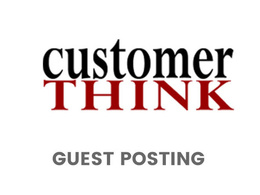 Publish a guest post on CustomerThink