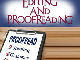 Proofread and correct any English article up to 5,000 words