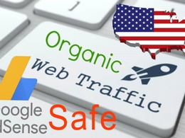 Supply 10,000 genuine organic Google unique targeted web traffic