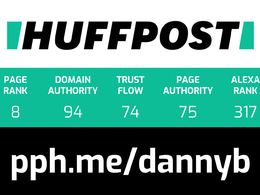 Write and publish a guest post on HuffPost