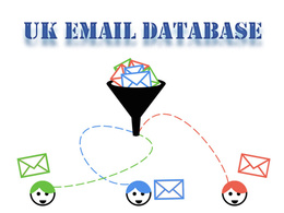 UK Email List / Email Database for Email Marketing (100K)
