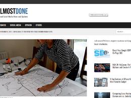 Guest post on Thealmostdone.com business website - DA 48