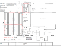 House Extension Structural Design to Building Regulations