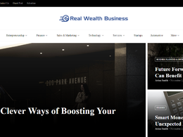 Guest post on Realwealthbusiness.com business website - DA 46