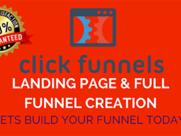 Create ClickFunnels Landing Page And Sales Funnel
