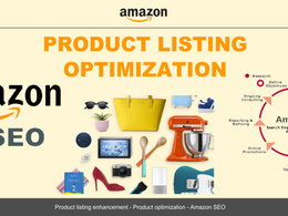 Optimise and SEO Amazon Listing To Rank Higher and Increase Sale