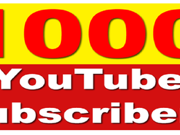 1000 None Drop Youtube Subs And 4000 Real Human Traffic