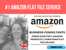 Create Amazon Products / Variations Flat File Upload