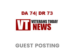 Publish a guest post on VeteransToday DA 74, DR 73