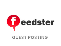 Publish a guest post on Feedster