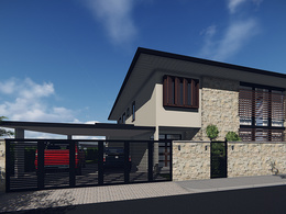 Do Sketchup 3d model of your house