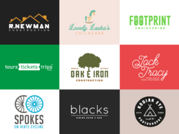 Design a custom, professional logo with unlimited revisions