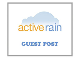 Guest post on real estate blog Active Rain DA75 activerain.com