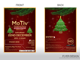 Design your Logo,card or flyer for Christmas and new year.