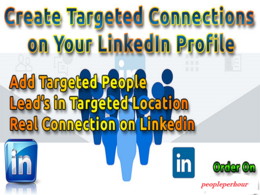 Create Targeted Connections On Your LinkedIn Profile or Grow Up