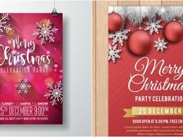Design poster/ logo/flyer/brochure/greeting cards