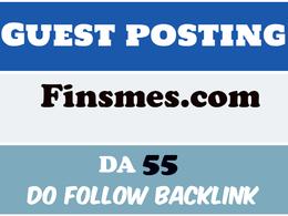 Publish Guest Post on Finsmes - Finsmes.com – DA 55