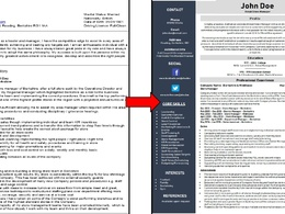 Rewrite your CV, Cover Letter & LinkedIn profile