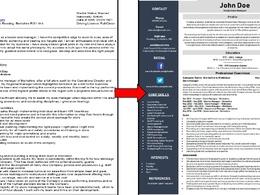 Rewrite your CV, Cover Letter & LinkedIn profile