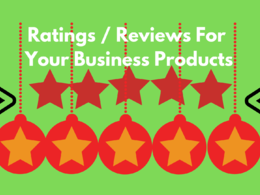 Provide you rating for your business