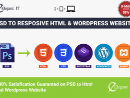Convert your PSD to html or wordpress
