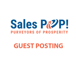 Publish a guest post on SalesPOP Blog