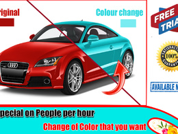 I will do Color change,Color correction,Photo editing in 24 hour
