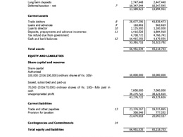 Prepare Accounts Balance Sheet, Profit Loss Account of Company