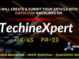 Guest Post on HQ Tech, Business Site DA45 Techinexpert.com