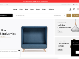 Create an online e-Commerce shop