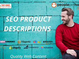 ★ Write 5 SEO PRODUCT DESCRIPTIONS that CONVERT! ★