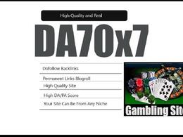 Give link da70x7 site Gambling blogroll permanent