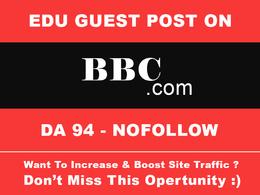 Do Guest post on BBC.com DA 94